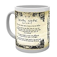 Death Note - Tasse Regeln des Death Note