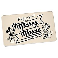 Disney - Brettchen Mickey & Minnie Vintage Fun