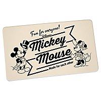 Disney - Brettchen Mickey & Minnie Vintage Fun