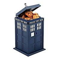 Doctor Who - cookie jar Tardis with sound & light function