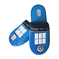 Doctor Who - Hausschuhe Tardis