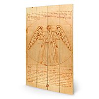 Doctor Who - Holz-Print Weeping Angel