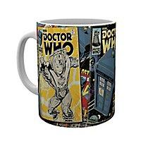 Doctor Who - Tasse Comics