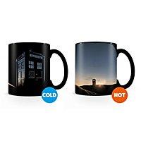 Doctor Who - Tasse mit Thermoeffekt Neuanfang
