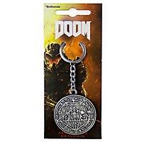 Doom - Schlüsselanhänger Pentagram
