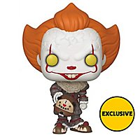 ES 2 - Pennywise mit Beaver Hut (Exclusive) Funko POP! Figur