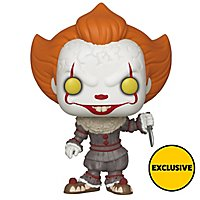 ES 2 - Pennywise mit Messer (Exclusive) Funko POP! Figur