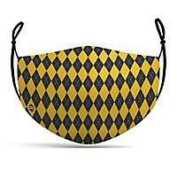 Fabric mask magic school yellow
