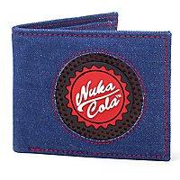Fallout - Geldbörse Nuka Cola Logo