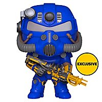 Fallout - Power Armor Vault Tec Version Funko POP! Figur (Exclusive)