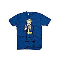 Fallout - T-Shirt Vault Boy Zeigefinger