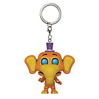 Five Nights at Freddy`s - Pizza Sim - Orville Elephant Pocket POP! Schlüsselanhänger