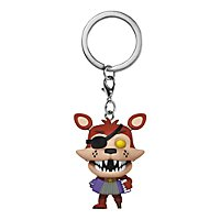 Five Nights at Freddy's - Pizza Sim: Rockstar Foxy Funko Pocket POP! Schlüsselanhänger