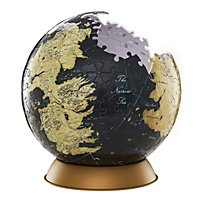 Game of Thrones - 3D Globus Puzzle Unknown World