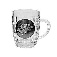 Game of Thrones - Bierglas Stark