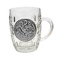 Game of Thrones - Bierglas Targaryen