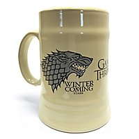 Game of Thrones - Bierkrug Haus Stark