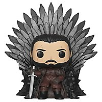 Game of Thrones - Jon Snow auf dem Eisernen Thron Funko POP! Deluxe Figur