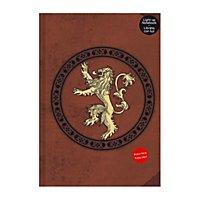 Game of Thrones - Notizbuch mit Leuchtfunktion Lannister