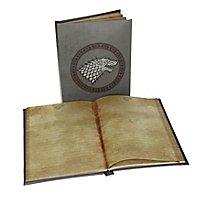Game of Thrones - Notizbuch mit Leuchtfunktion Stark