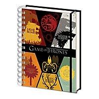 Game of Thrones - Notizbuch Wappen