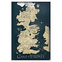 Game of Thrones - Poster Karte