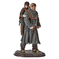 Game Of Thrones - Statue Hodor & Bran