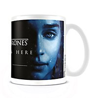 Game of Thrones - Tasse Winter is Here mit Daenerys