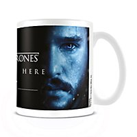 Game of Thrones - Tasse Winter is Here mit Jon Snow