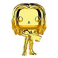 Guardians of the Galaxy - Gamora (Gold Chrome) Funko POP! Wackelkopf Figur