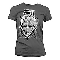 Guardians of the Galaxy - Girlie Shirt I am Groot Distressed