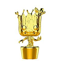 Guardians of the Galaxy - Groot (Gold Chrome) Funko POP! Wackelkopf Figur