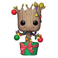 Guardians of the Galaxy - Groot mit Weihnachtsschmuck Funko POP! Wackelkopf Figur