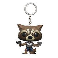 Guardians of the Galaxy - Rocket Raccoon Pocket Pop! Schlüsselanhänger Vol. 2