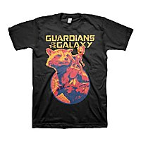 Guardians of the Galaxy - T-Shirt Rocket & Groot