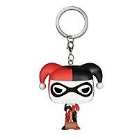 Harley Quinn - Comic Harley Quinn Pocket POP! Schlüsselanhänger