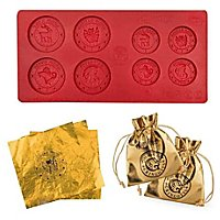 "Harry Potter - Chocolate /ice cube mold ""Gringotts Bank Coins"""