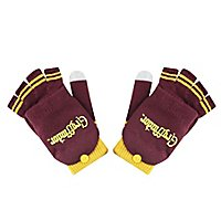Harry Potter - fingerlose Handschuhe Gryffindor