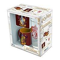 """Harry Potter - Geschenkset Tasse, Glass, Untersetzer """"Gryffindor"""""""