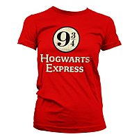 Harry Potter - Girlie Shirt Hogwarts Express Platform 9-3/4