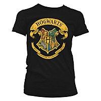 Harry Potter - Girlie Shirt Hogwarts Wappen
