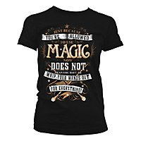 Harry Potter - Girlie Shirt Magic Girly