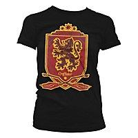 Harry Potter - Girlie Shirt Quidditch Team Gryffindor 07