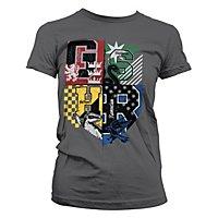 Harry Potter - Girlie Shirt Schlafsaal Wappen