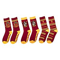 Harry Potter - Gryffindor Socks 3-Pack