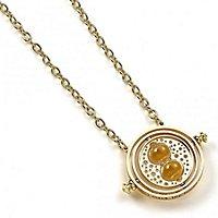 Harry Potter - Halskette mit Anhänger Zeitumkehrer (vergoldet)