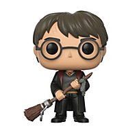 Harry Potter - Harry Potter mit Feuerblitz und Feder Funko POP! Figur (Exclusive)