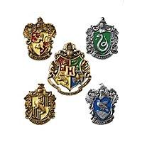 Harry Potter - Anstecknadel-Set Hogwarts Hauswappen