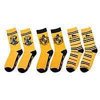 Harry Potter - Hufflepuff Socken 3er-Pack