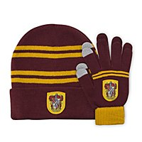 Harry Potter - Kids Beanie & Handschuhe Set Gryffindor